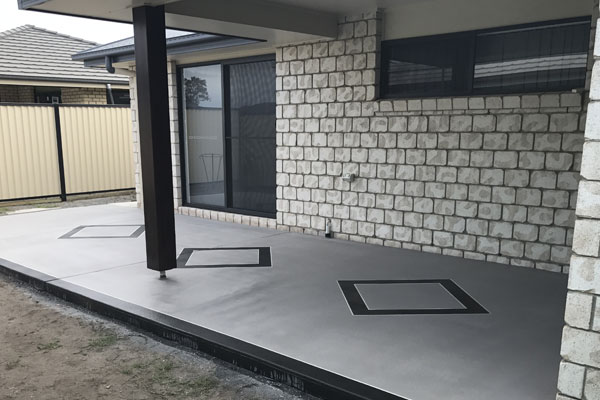 spraycrete patio
